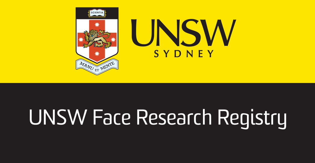 UNSW Face Research Registry